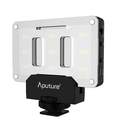 Aputure AL-M9 Mini LED Light for Video Filming and Macro Photography